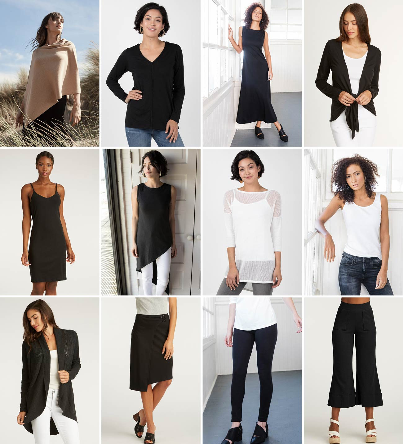 Sustainable Fashion Capsule Wardrobe | Organic Womens Clothing System