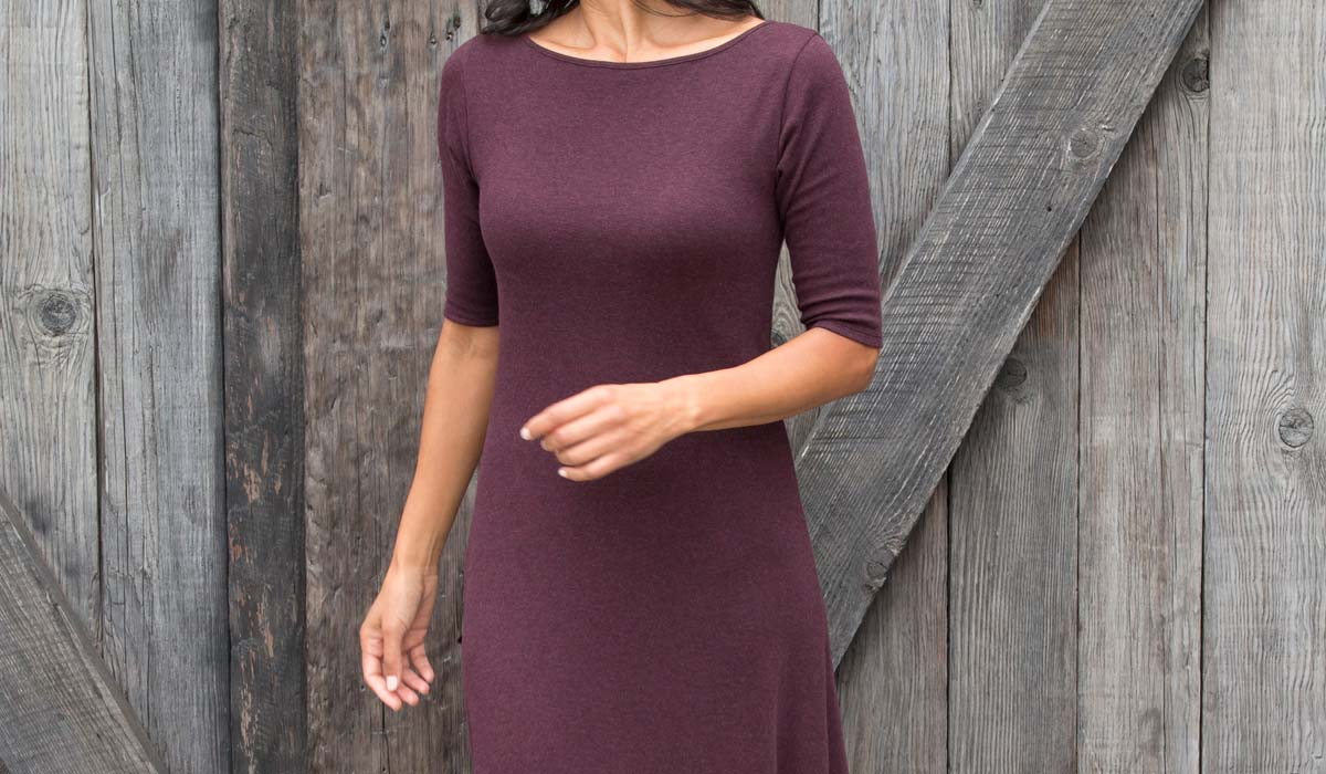 Womens Organic Cotton Dresses - Sustainable Fashion Clothing for Women