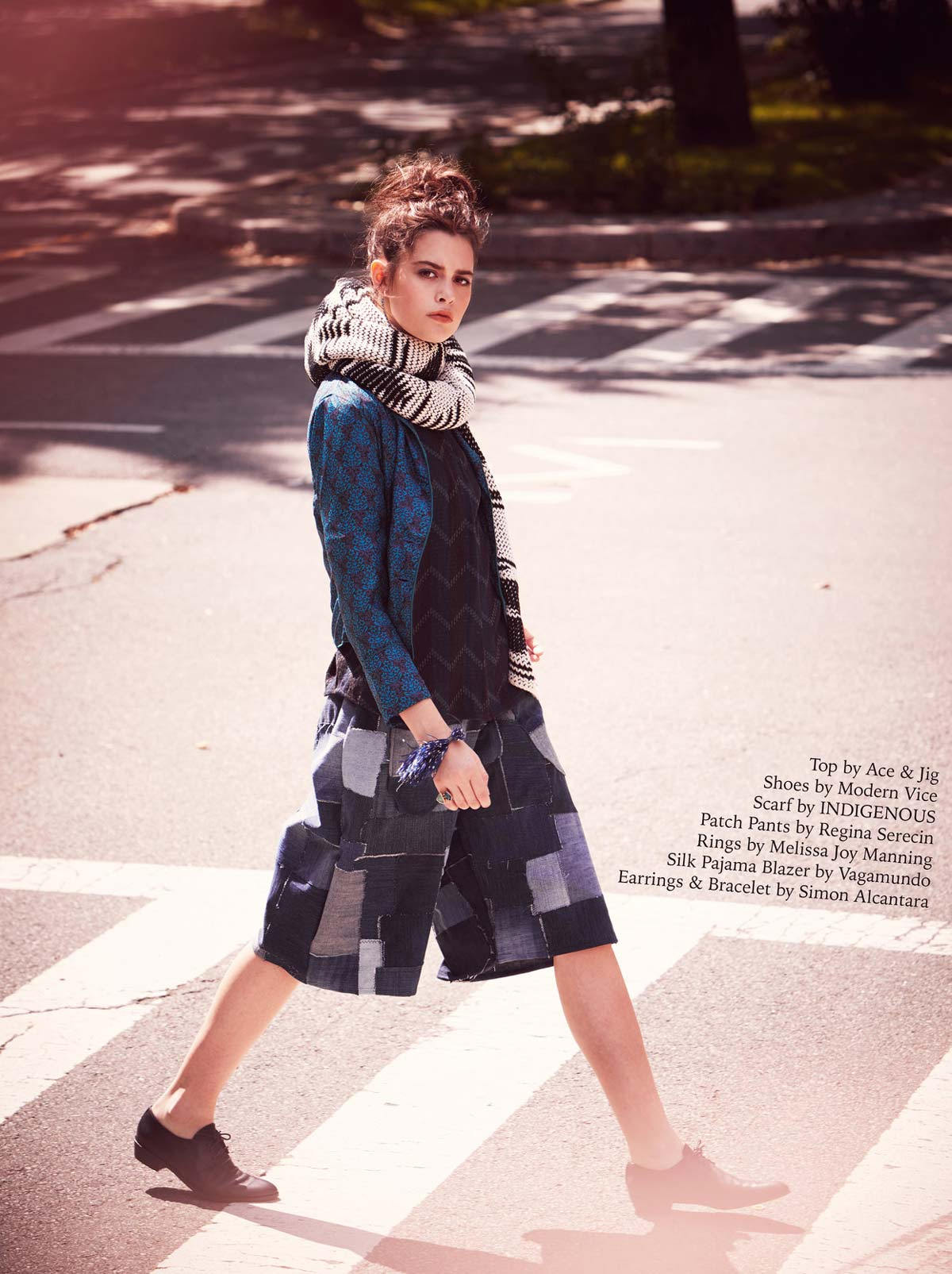 Sustainable Fashion Feature in Jejune Magazine | Handknit Amaru Wrap Scarf