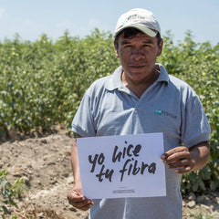 Yo hice tu fibra | organic cotton farmer in Peru | sustainable fashion