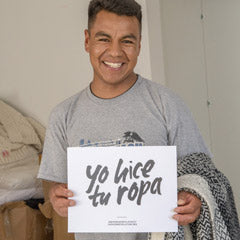 Yo hice tu ropa | fair trade weaver in Peru