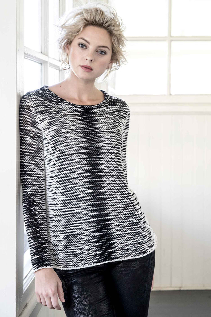 Womens Artisan Knit Sweater | Organic Cotton Clothing Pullover