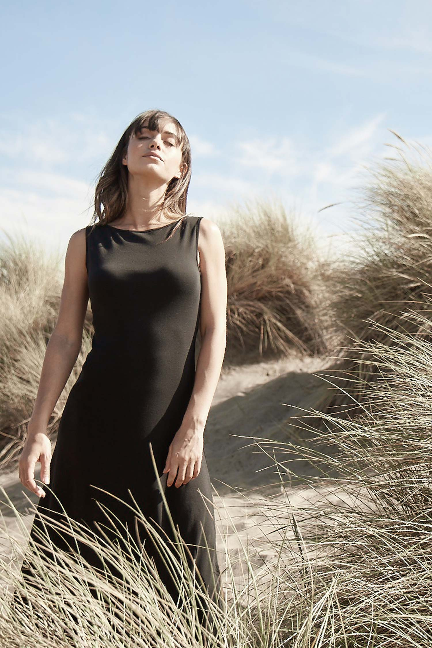 Essential Boatneck Dress - Indigenous