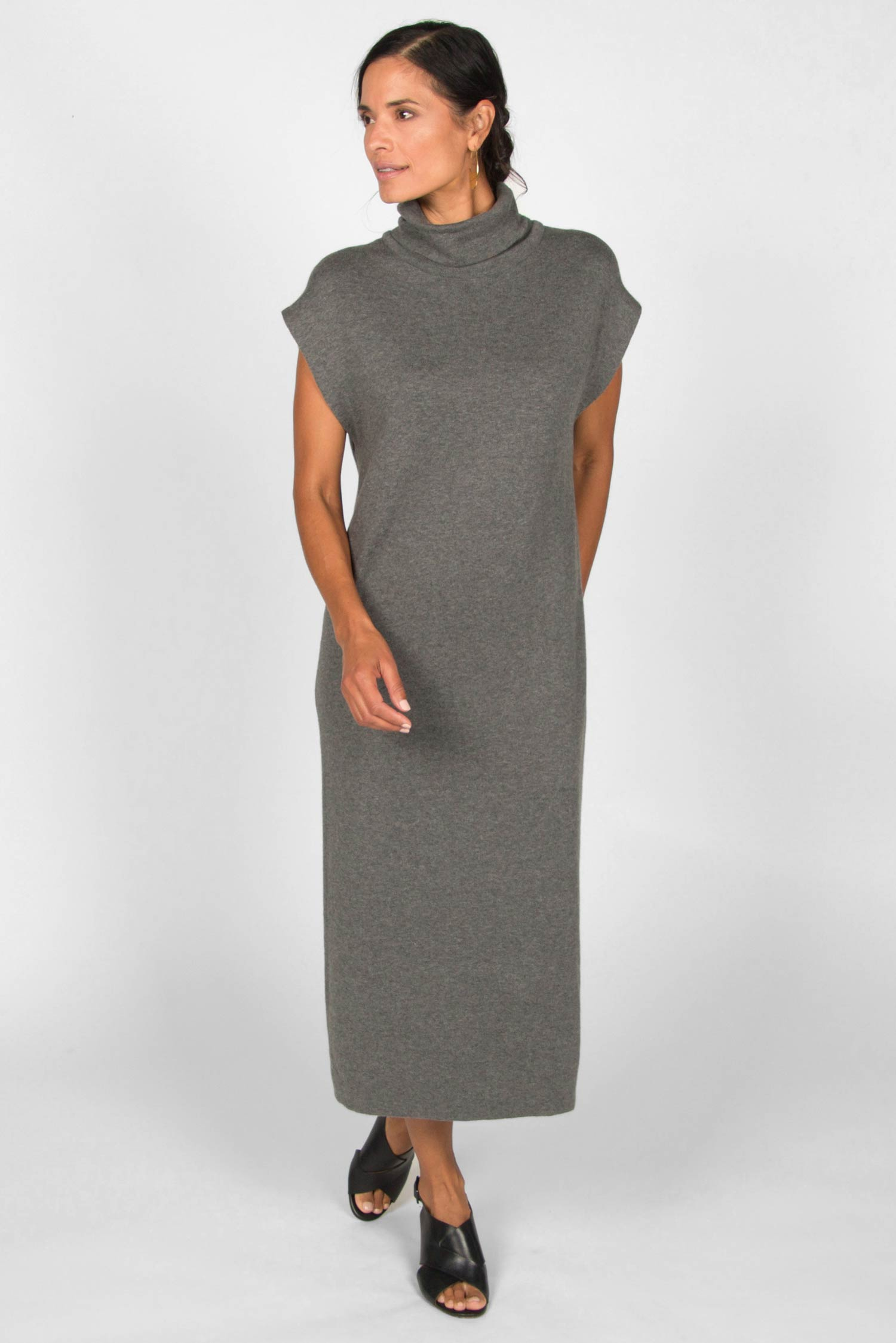 Cap Sleeve Knit Dress - Indigenous