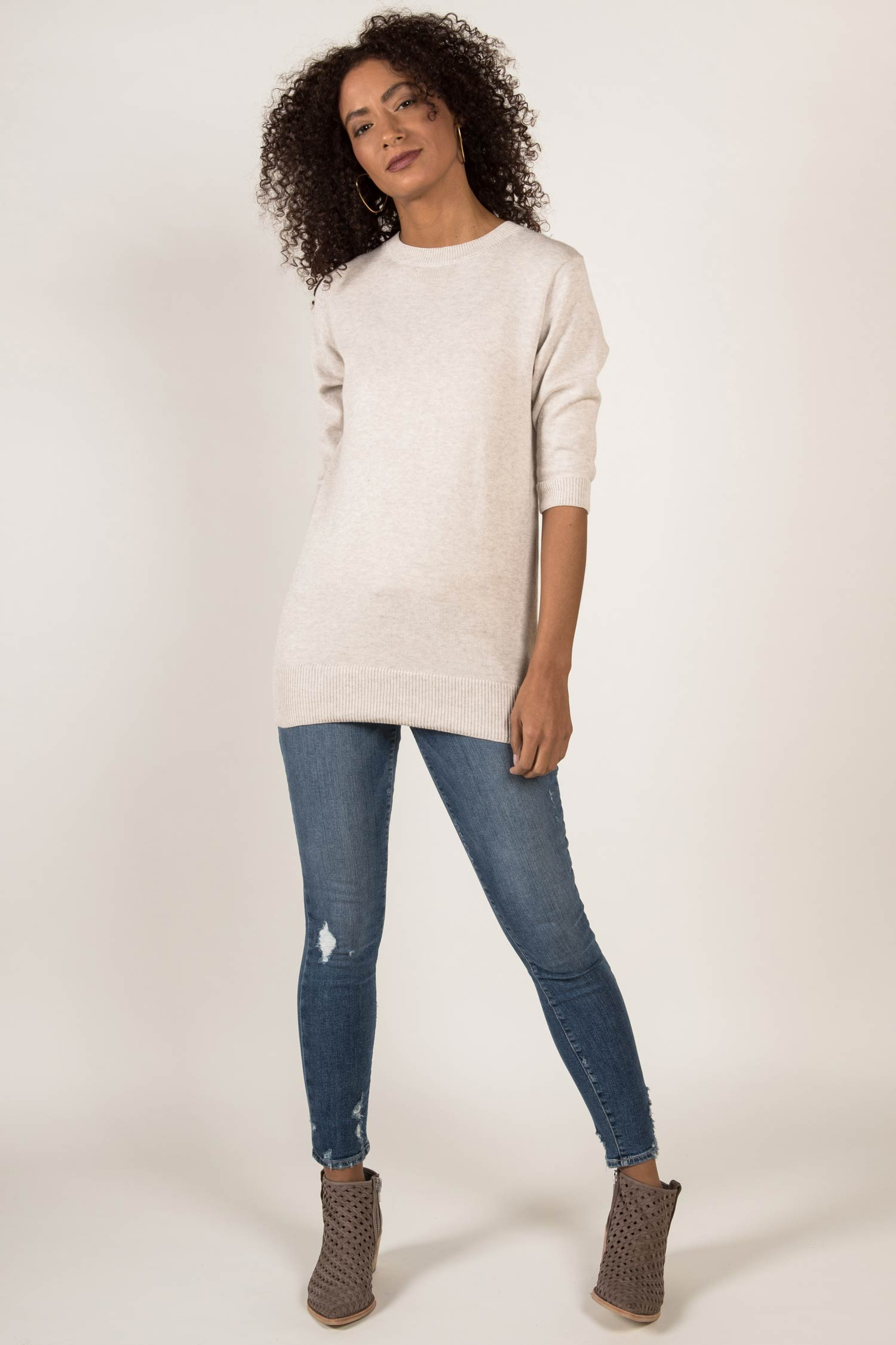 Elbow Sleeve Tunic