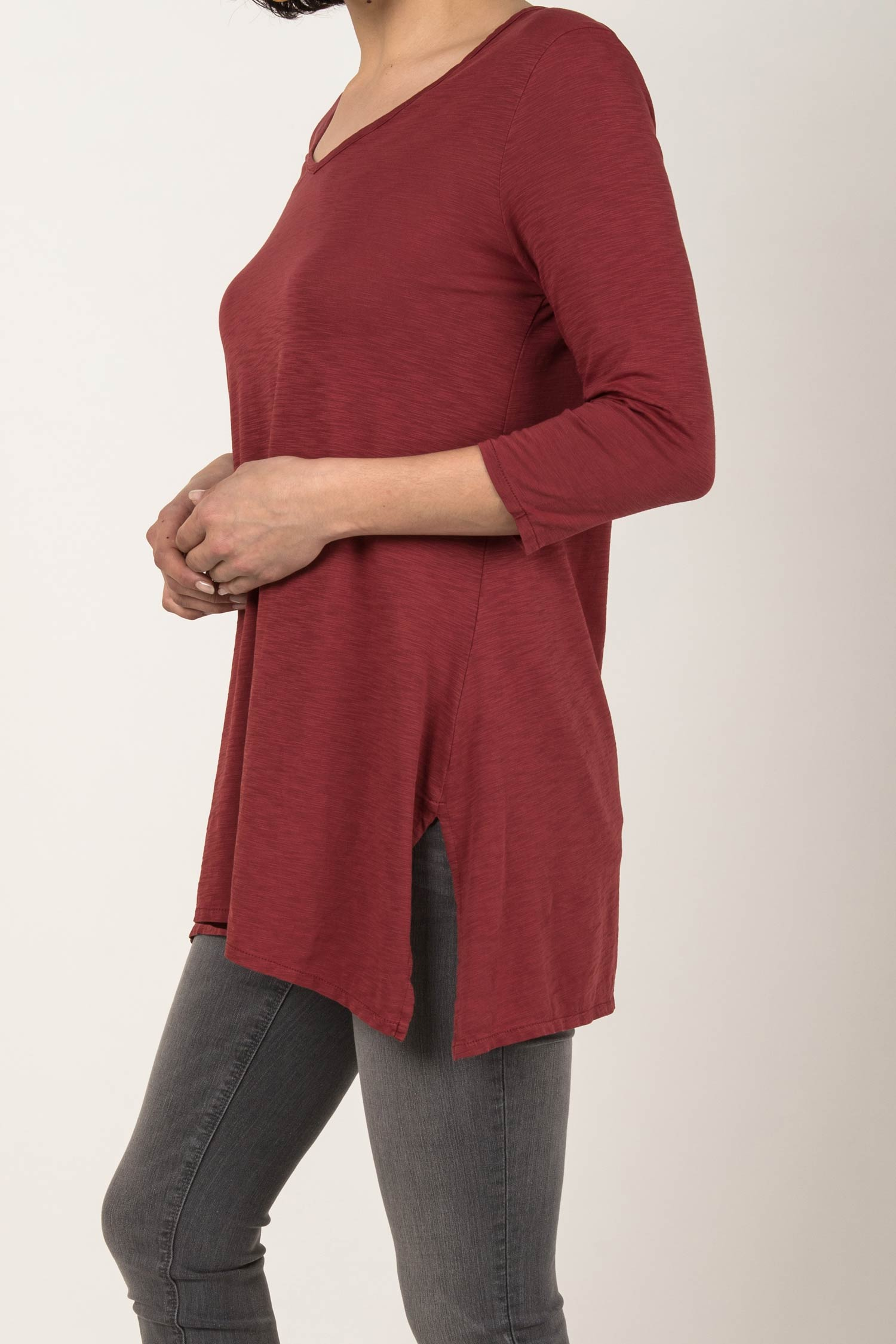 Essential Slub Tunic - Indigenous