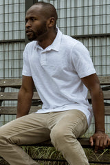 Men's Slub Polo - Indigenous