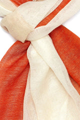 Ultra-Soft Wool Color Block Scarf - Indigenous