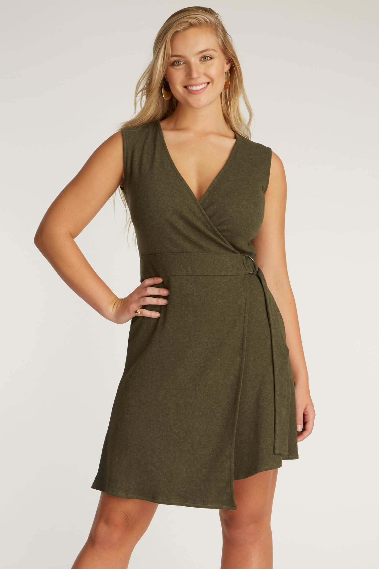 Ring Wrap Dress