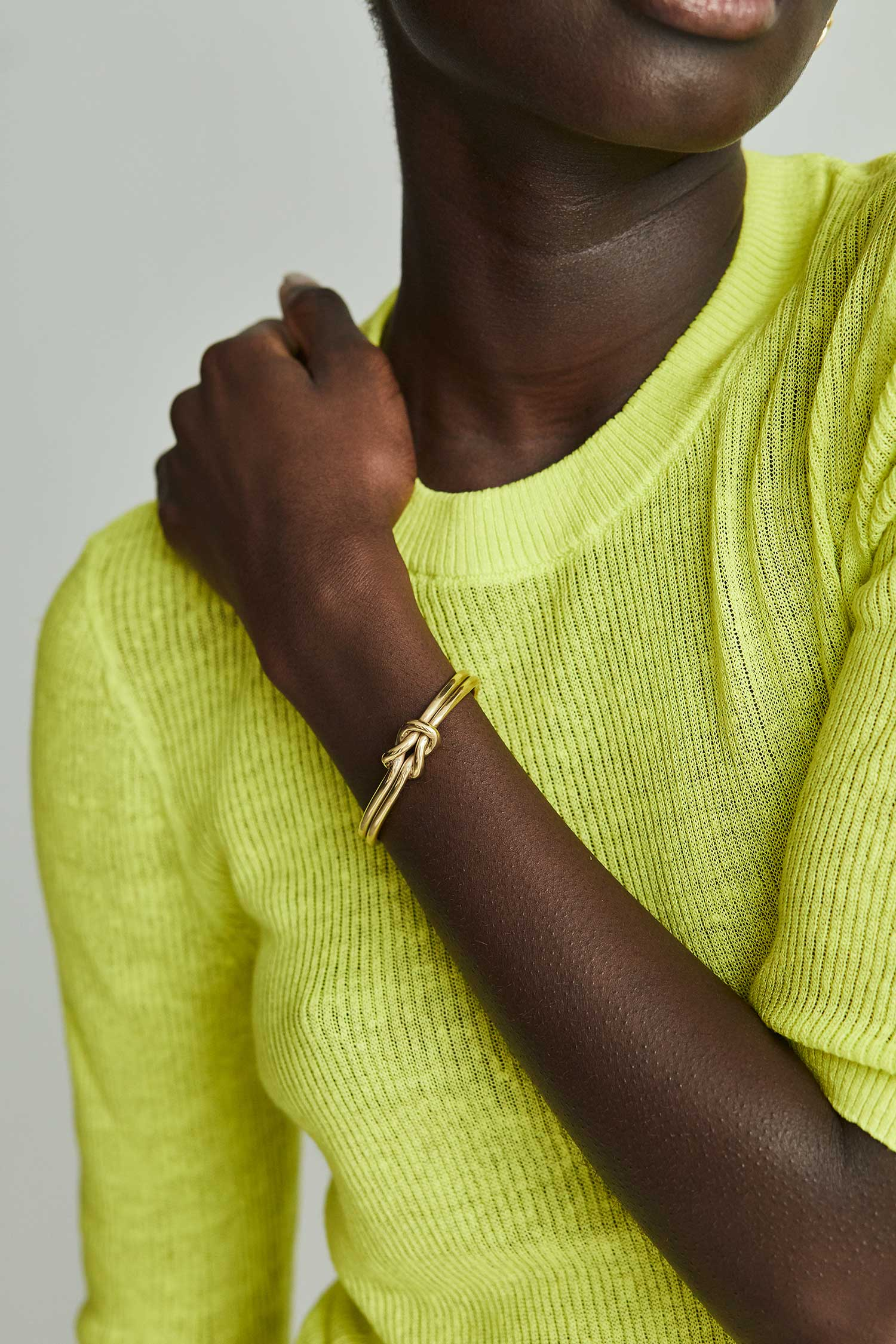 Sayo Cuff (Gold Plated)