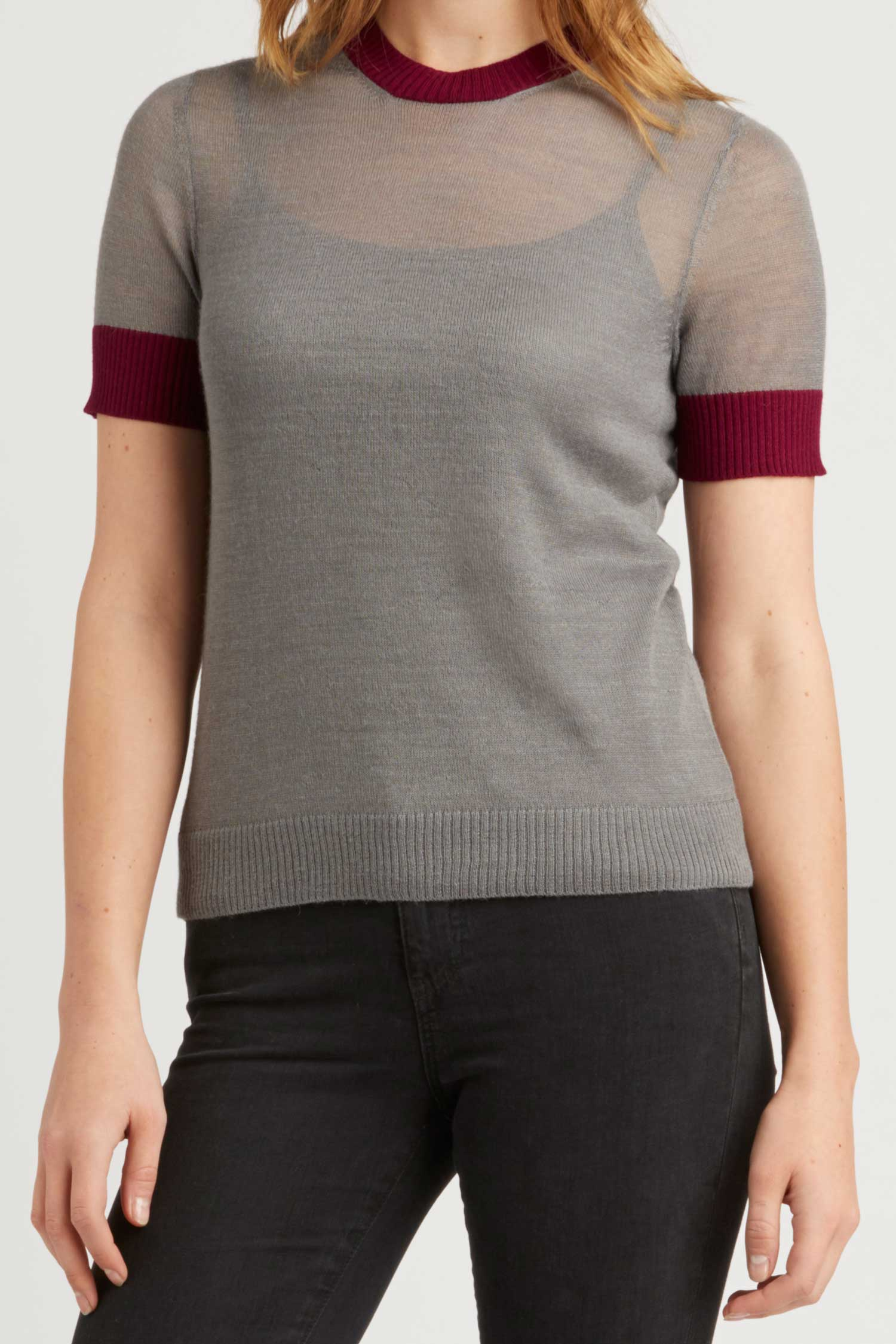 Sheer Alpaca Silk Top - Indigenous
