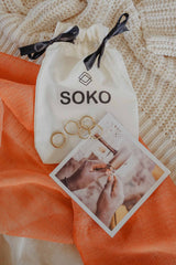 Soko rings with gift bag