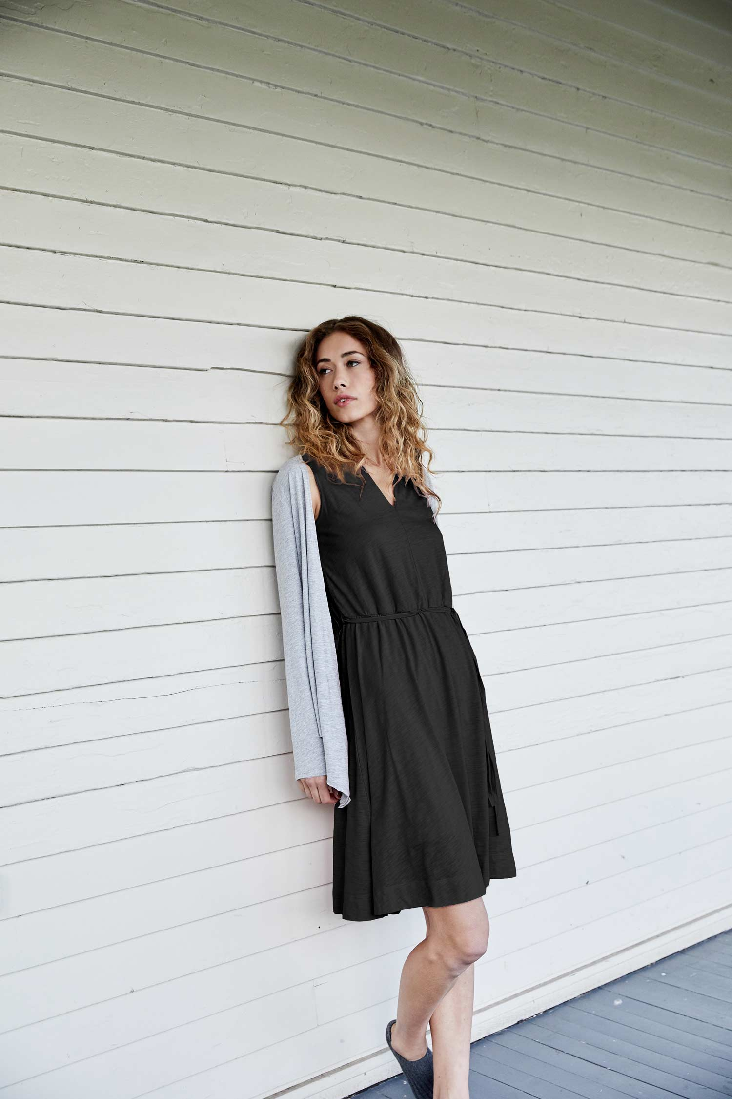 Womens LBD | Little Black Dress | Organic Cotton Clothing