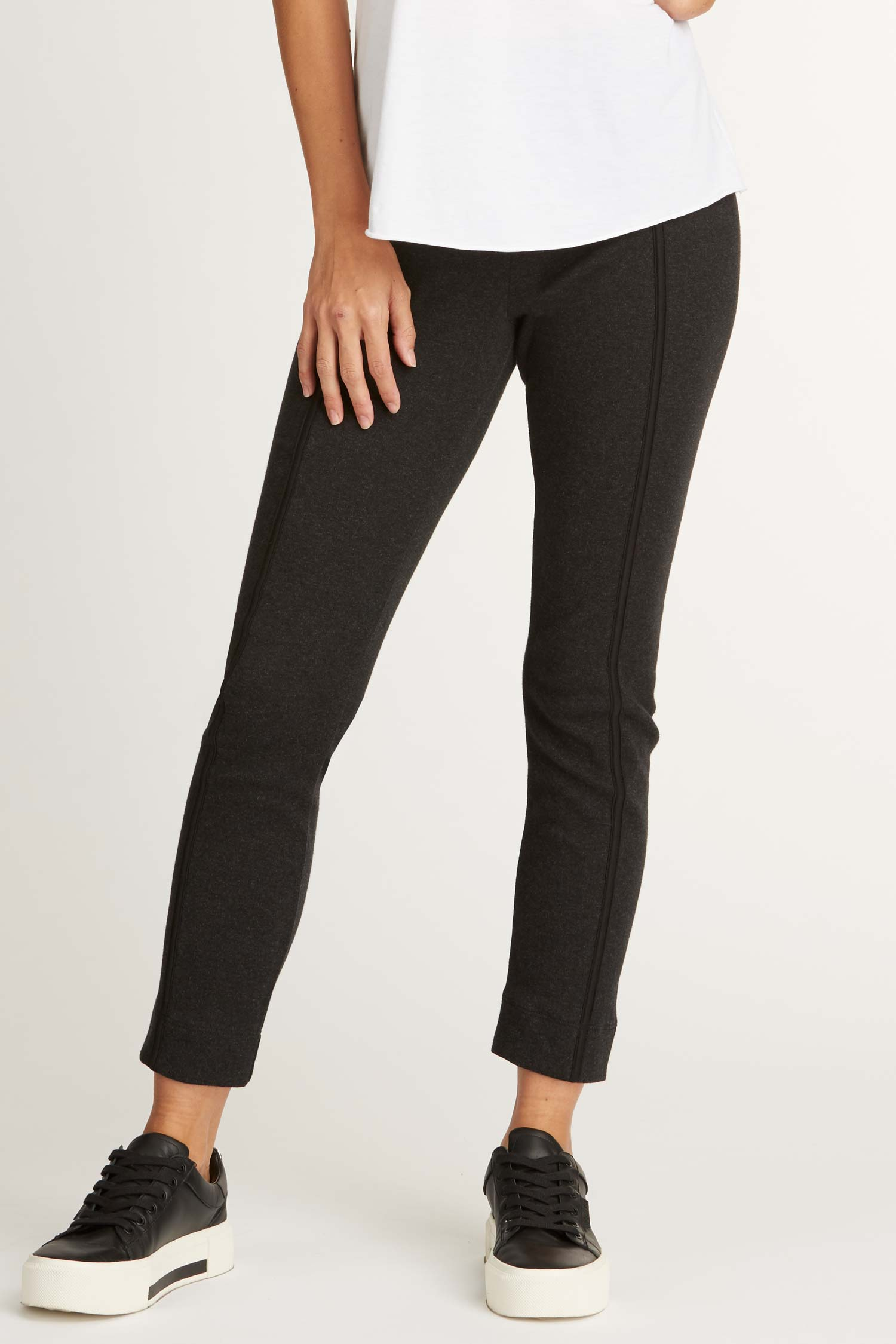Womens Pants Black Organic Cotton Clothing Pant