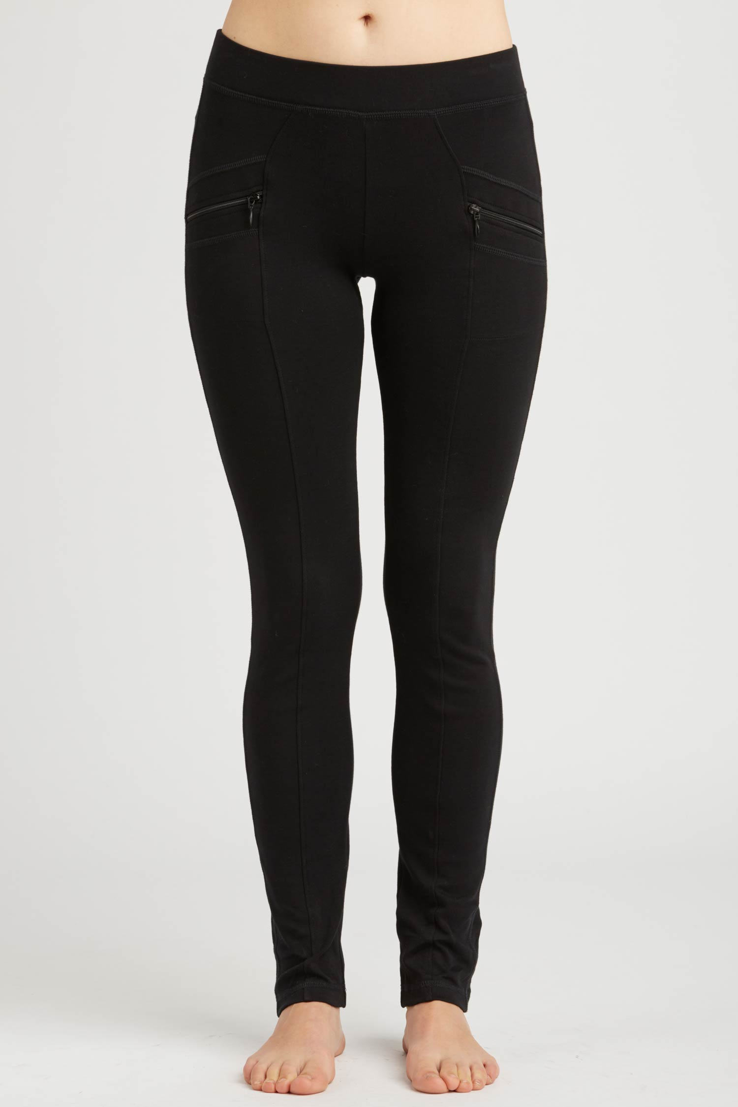Womens Riding Pant | Black | Organic Cotton Clothing