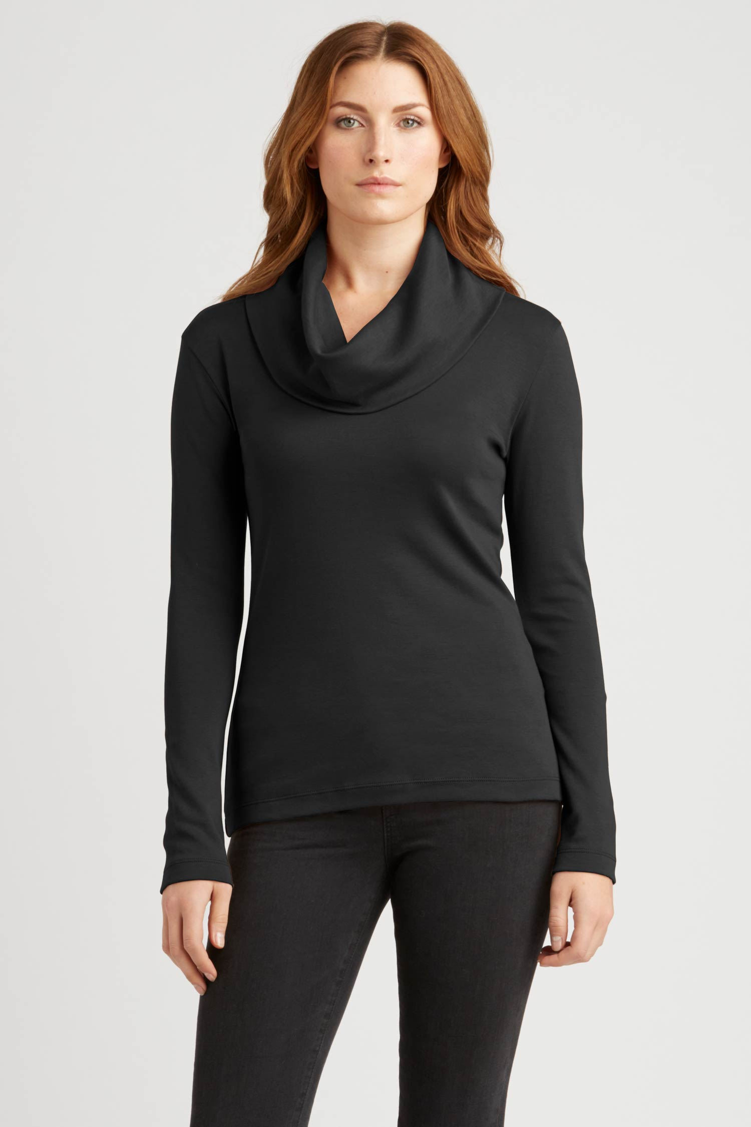 Cowl Neck Pullover