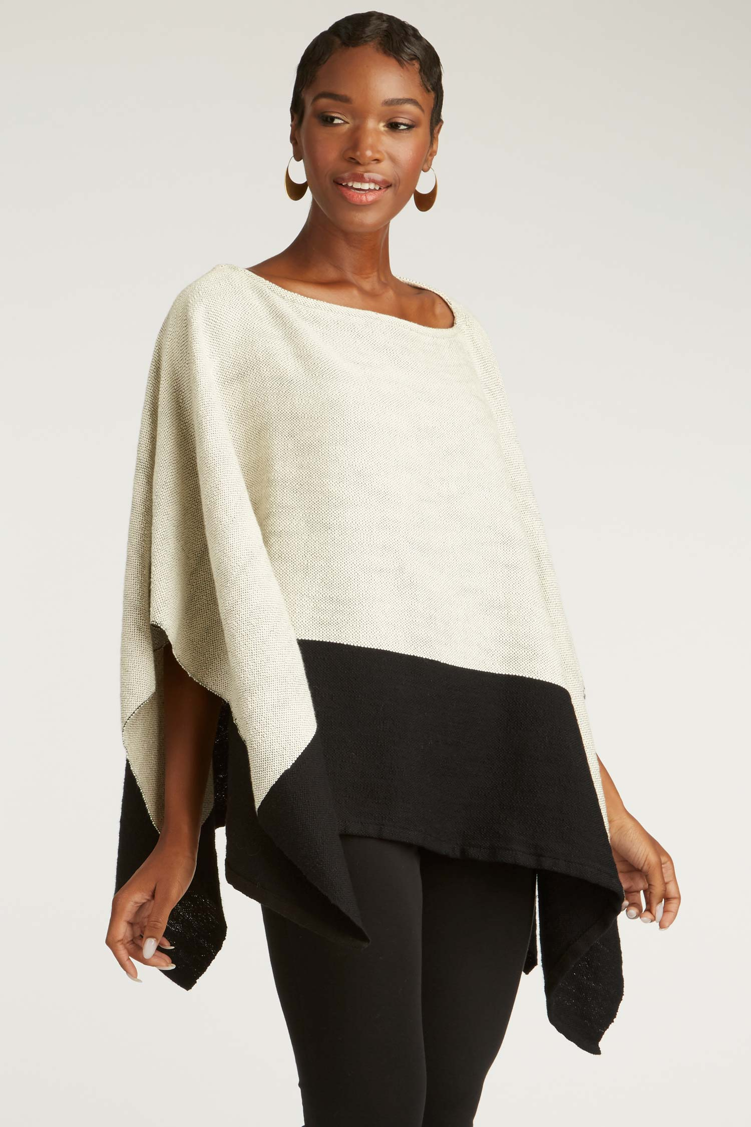 Womens Handwoven Poncho | Fair Trade Fashion