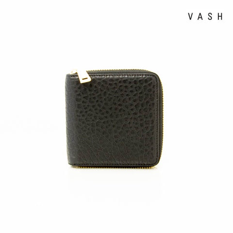 VASH - Atlas Black Zip Wallet