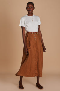 SANCIA - Mila Skirt MOCHA