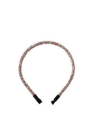 SARAH J CURTIS - Love Forever Headband QUARTZ