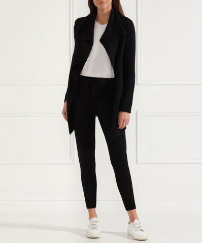 BRODIE CASHMERE - Miss Duffy Cardigan BLACK