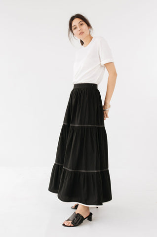 MARLE - Dusty Skirt 'Black'