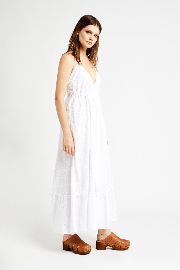 OTTOD'AME - Broderie White Cotton Dress