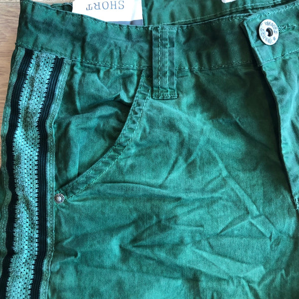BIANCO - Sibrite Forest Green Shorts