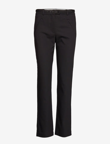 FIVE UNITS - Angelie 633 Straight Leg Belted Black Pants