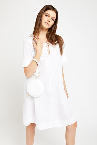 OTTOD'AME - White Cotton Dress