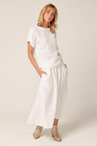 PRIMNESS - Amalfi Skirt (White)