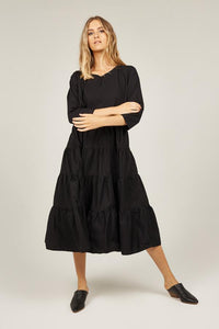 PRIMNESS - Texas Dress (Black)