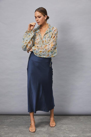 MLM - Kingdom Slip Skirt 'Mayfair Blue'
