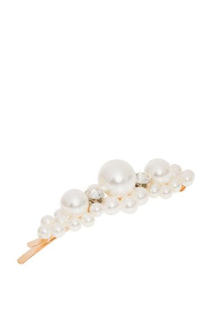 SARAH J CURTIS - Another World Hair Slide - Pear & Crystal