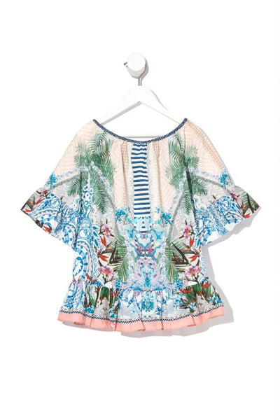 CAMILLA - Infants A-Line Frill Dress  BEACH SHACK