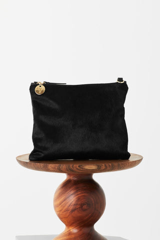 VASH - Mickey Black Hide Clutch
