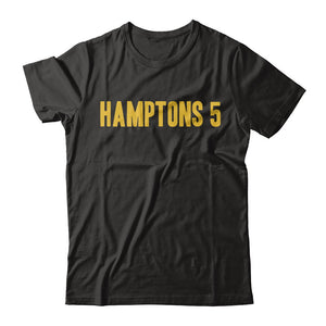 Hamptons 5 Straight Up Tee - Black