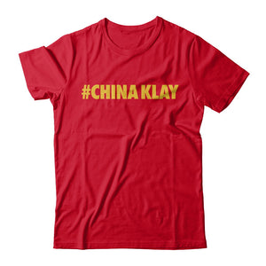 #ChinaKlay Tee - Red