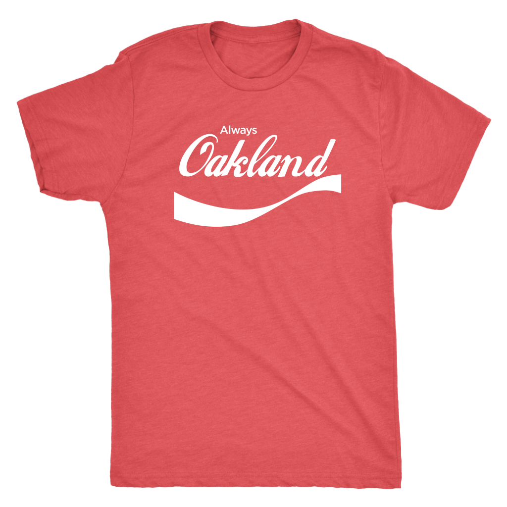 Always Oakland Tee - Vintage Red