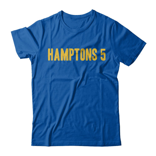 Hamptons 5 Straight Up Tee - Royal