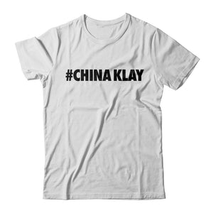 #ChinaKlay Tee - White