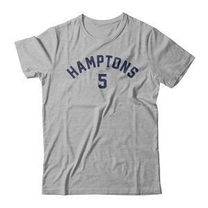 Hamptons 5 Tee - Heather Gray