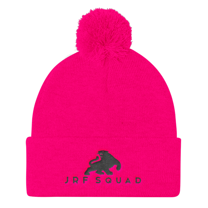 Pink JRF Squad Beanie