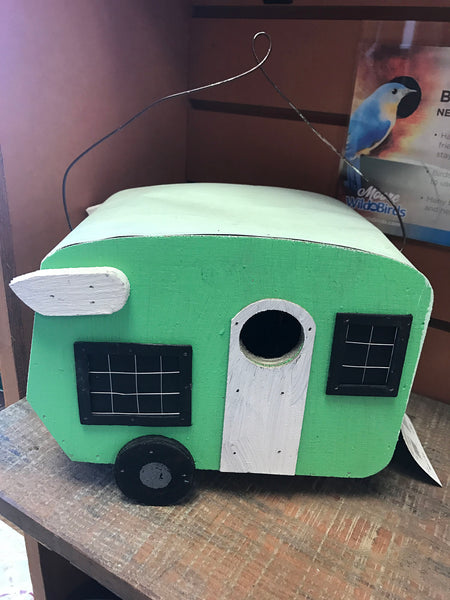 Trailer park RV birdhouse