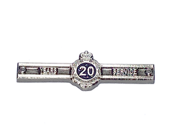 Queensland Police Service - New 20 years service medal clasps