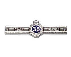 Queensland Police Service - New 35 years service medal clasps