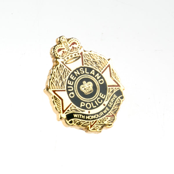 QPS Tie Tack - Gold - Queensland Police Health & Recreation Association