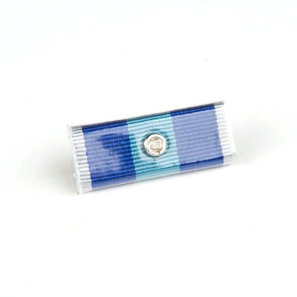 QPS Ribbon Bars - Plain - QPS Medal - 40 Years - Queensland Police Health & Recreation Association