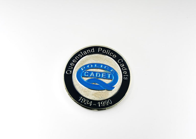 Queensland Police Service Cadet Coin 1934-1990