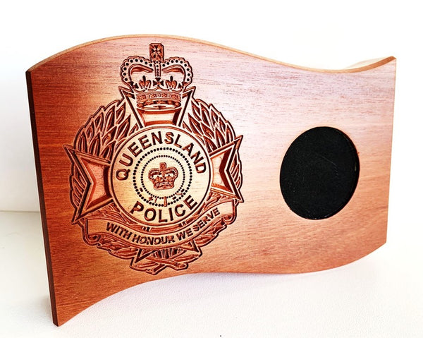 Queensland Police Service Coin Holder